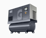 Industrial Lubricated Air Compressors by Atlas Copco